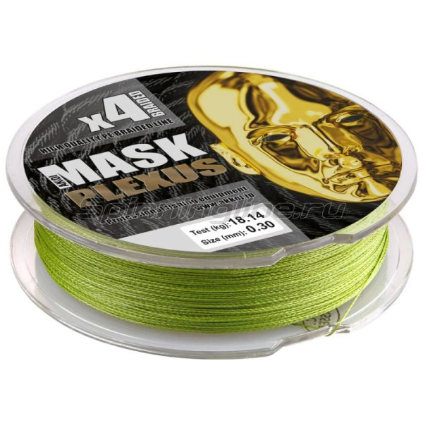 Шнур Akkoi Mask Plexus 125м 0,12мм green -  2