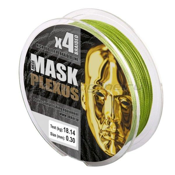 Шнур Akkoi Mask Plexus 125м 0,28мм green -  3