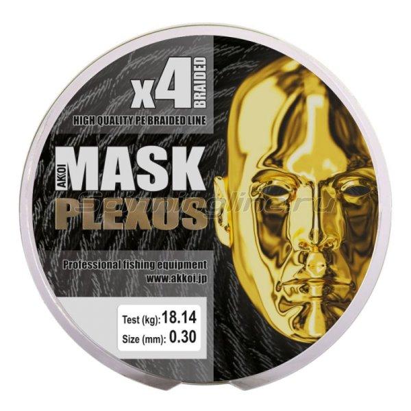 Шнур Akkoi Mask Plexus 125м 0,30мм green -  4