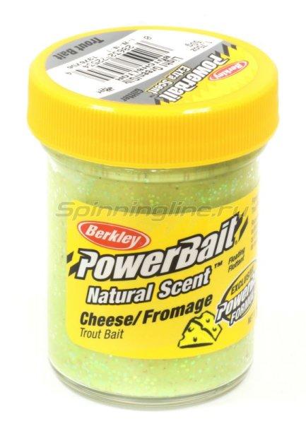 Паста Berkley Natural scent TroutBait Cheese Light Green (сыр) -  1