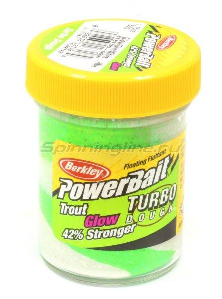 Паста Berkley PowerBait Glow in the Dark Green White Glow (смесь рыбных запахов) -  1