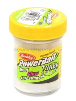 Паста Berkley PowerBait Glow in the Dark White Glow (смесь рыбных запахов)