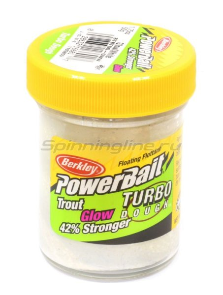 Паста Berkley PowerBait Glow in the Dark White Glow (смесь рыбных запахов) -  1
