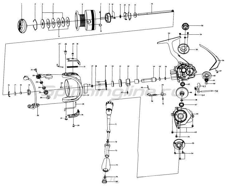 Катушка Stinger ForceAge Neo 3510 -  10