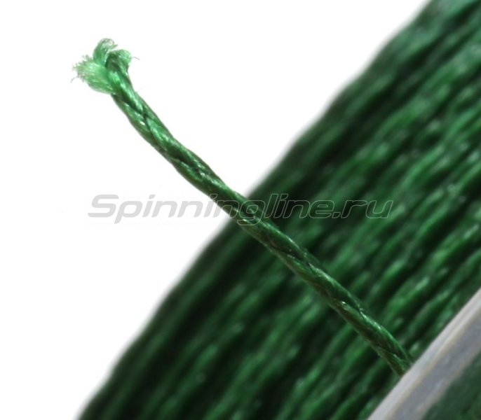 Шнур Keitaro Ultimate Braided Line x4 140м 0,12мм Dark Green -  3