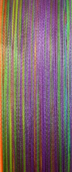 Шнур Sprut Saburo Soft Ultimate Braided Line x4 95м 0,12мм Multicolor -  2