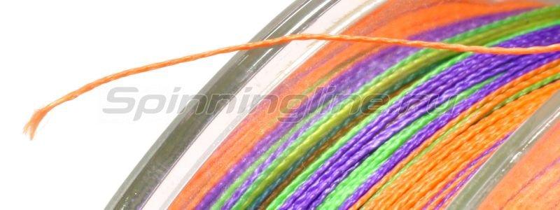 Шнур Saburo Soft Ultimate Braided Line x4 95м 0,12мм Multicolor -  3