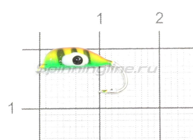 Мормышка Банан B5 d3.2 ZEL -  1