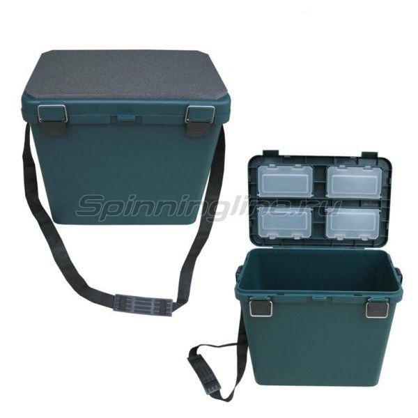Ящик универсальный зеленый -  1