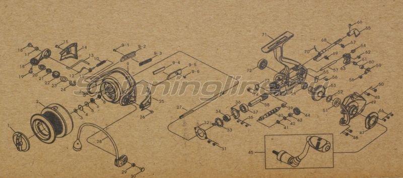 Катушка Fishmaker II FD930i -  9