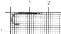 Крючок Nautilus Sting Float S-1112BN №10