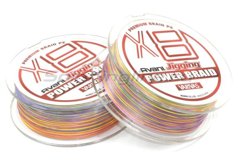 Шнур Varivas Avani Jigging Power Braid PEx8 200м 0.8 -  2