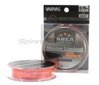 Шнур Varivas Area Super Trout Master Limited Super Premium PE 75м 0.15 orange