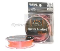 Шнур Varivas Area Super Trout Master Limited Super Premium PE 75м 0.175 orange