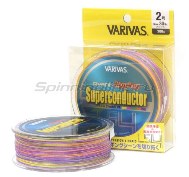 Шнур Varivas Avani Jigging Super Conductor LS4 300м 2 -  1