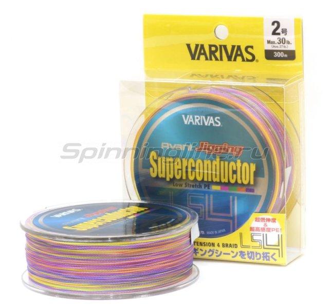 Шнур Varivas Avani Jigging Super Conductor LS4 300м 2.5 -  1