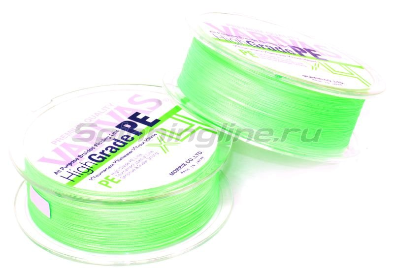 Шнур Varivas High Grade PEx4 150 Green 0.8 -  2