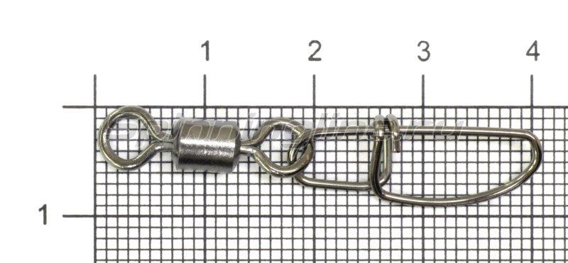Вертлюг с карабином SF0036 №1/0 -  1