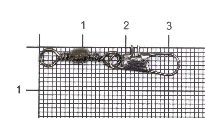 Вертлюг с карабином SF003 №8 -  1