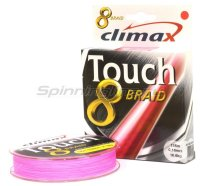 Шнур Climax Touch 8 Braid 135м 0.14мм розовый