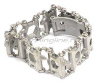 Многофункциональный браслет Leatherman TREAD Metric серебристый