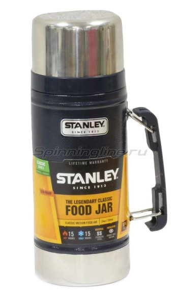 Термос Stanley Legendary Classic Food Flask 0.7л синий -  1