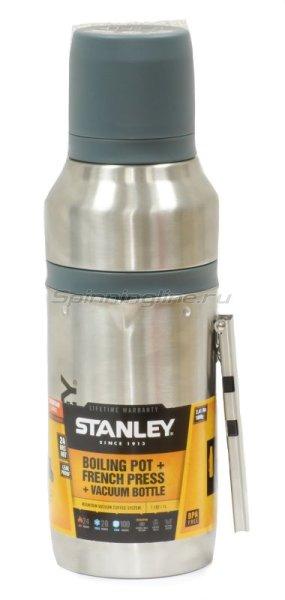 Термостакан Stanley Mountain 1л серебристый -  1