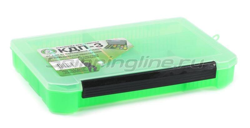Коробка Три Кита КДП-3 зеленая -  1