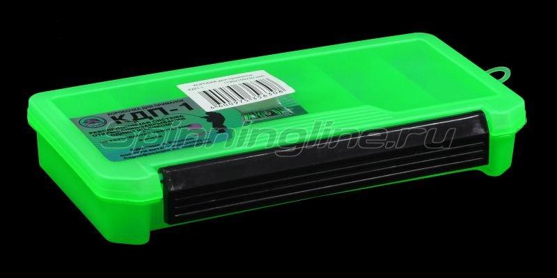 Коробка Три Кита КДП-1 зеленая -  1