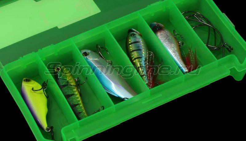 Коробка Три Кита КДП-1 зеленая -  4