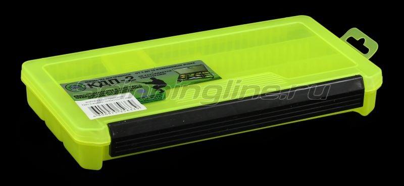 Коробка Три Кита КДП-2 желтая -  1