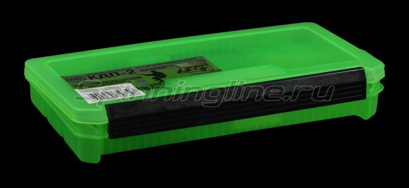 Коробка Три Кита КДП-2 зеленая -  1