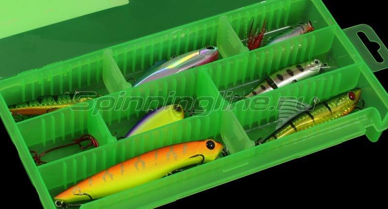 Коробка Три Кита КДП-2 зеленая -  4