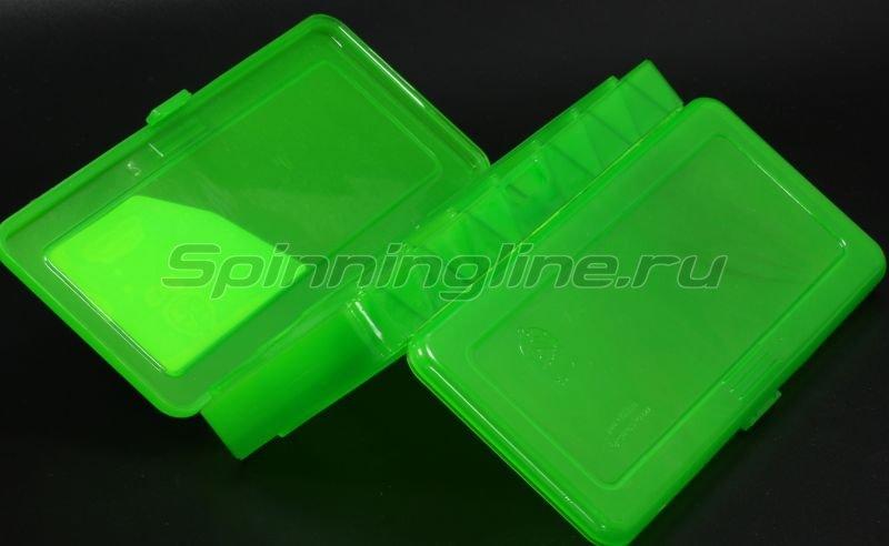 Коробка Три Кита для воблеров и балансиров ВБ-1 зеленая -  2