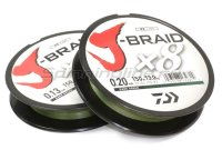 Шнур J-Braid X8 300м 0,13мм green