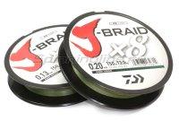 Шнур J-Braid X8 300м 0,16мм green