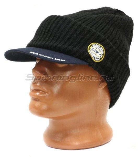 Шапка Golden Mean Brim Watch Cap Navy -  1