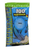 Прикормка 100 поклевок Fisherman Река