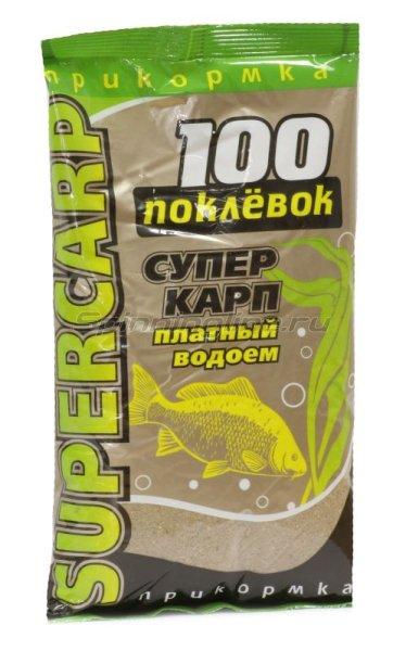 Прикормка 100 поклевок Super Карп -  1