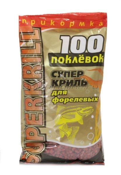 Прикормка 100 поклевок Super Криль -  1