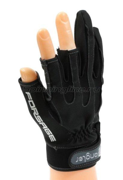 Перчатки Angler PU Leather A-011-M -  1