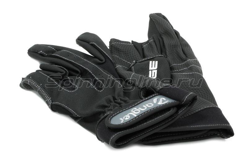 Перчатки Angler PU Leather A-011-M -  4