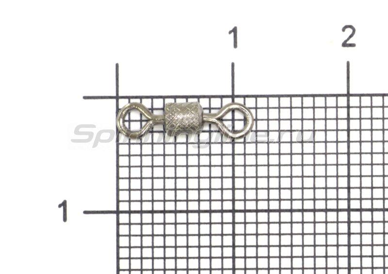 Вертлюг цилиндр с накаткой №6 -  1