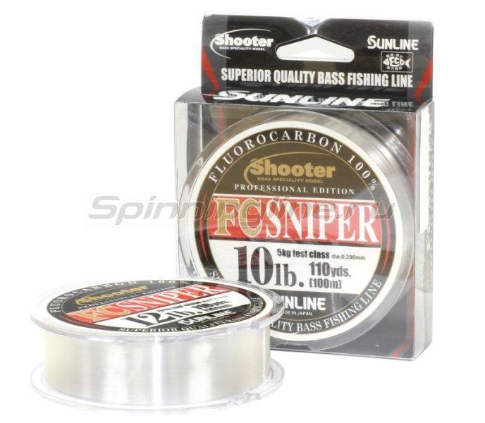 Флюорокарбон FC Sniper Shooter 100м 8LB -  1