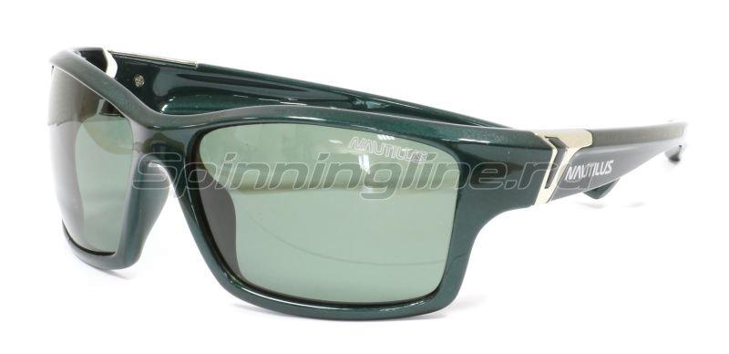Очки Nautilus N8305 PL green grey -  1
