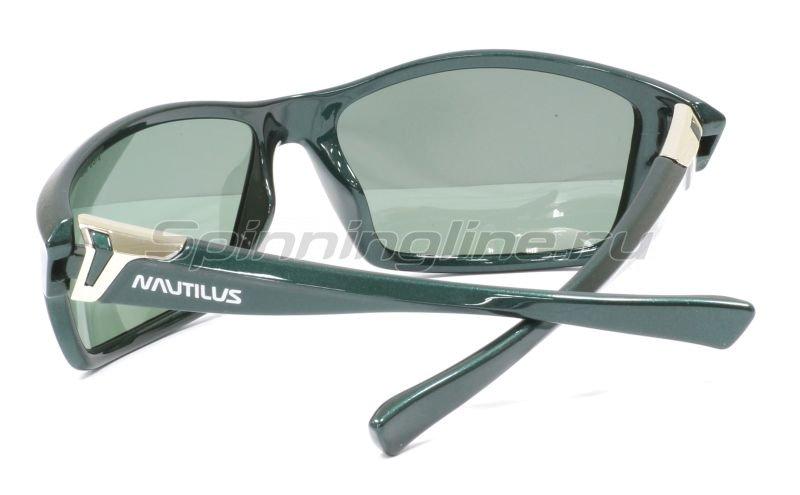 Очки Nautilus N8305 PL green grey -  2