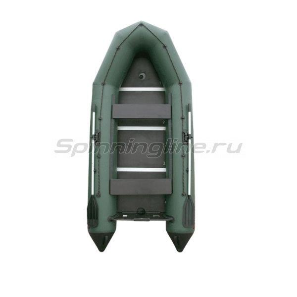 Лодка ПВХ Тайга-320 Киль зеленый -  2