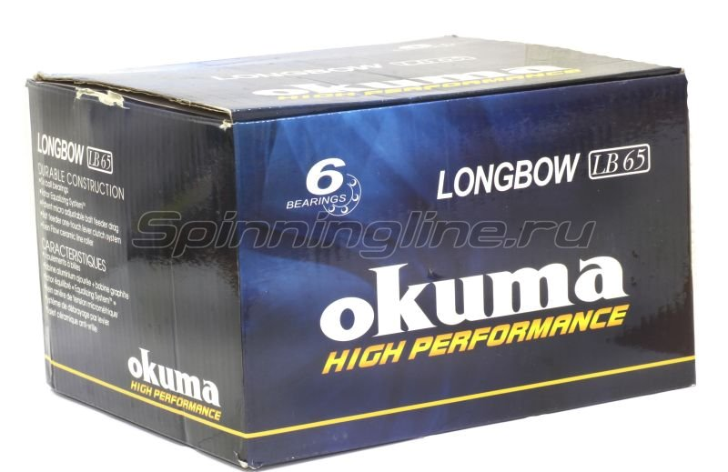 Катушка Okuma Longbow Baitfeeder 65 -  5
