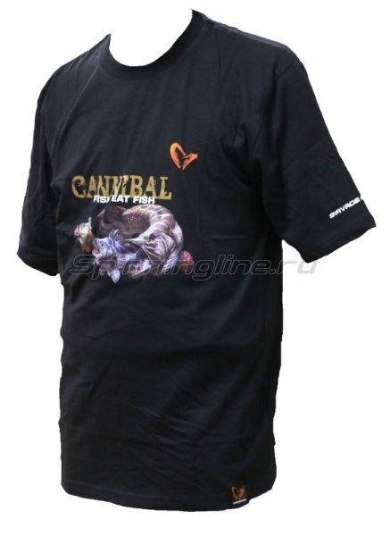 Футболка Savage Gear Cannibal L -  1