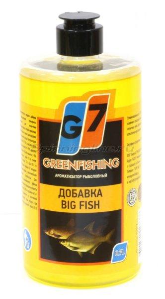 Добавка Greenfishing Крупная рыба 700мл -  1